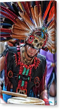 Dia De Los Muertos - Day Of The Dead 10 15 11 Canvas Print