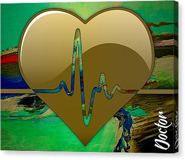 Doctors Collection Canvas Print by Marvin Blaine
