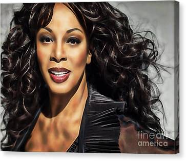 Donna Summer Collection Canvas Print
