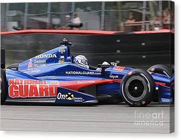 Indycar Racing Canvas Print by Douglas Sacha