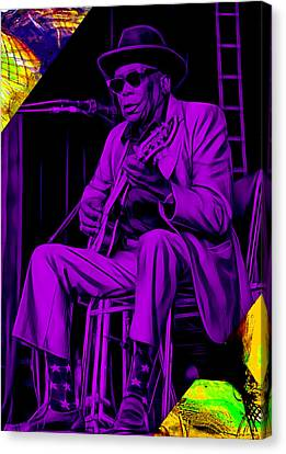 John Lee Hooker Collection Canvas Print