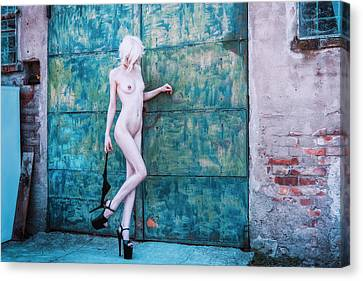 Canvas Print featuring the photograph Kelevra by Traven Milovich