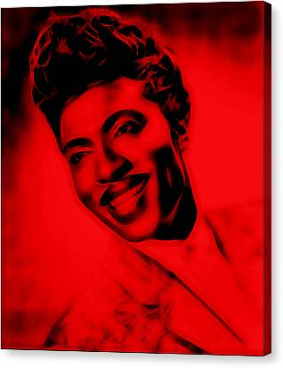 Musician Canvas Print - Little Richard Collection by Marvin Blaine