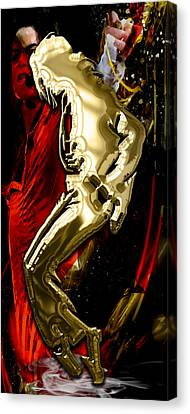 Michael Jackson Canvas Print - Michael Jackson Collection by Marvin Blaine
