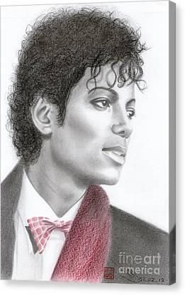 Michael Jackson #five Canvas Print