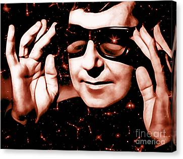 Roy Orbison Canvas Print - Roy Orbison Collection by Marvin Blaine