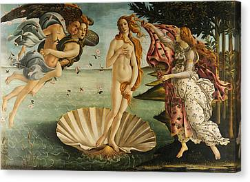 The Birth Of Venus Canvas Print