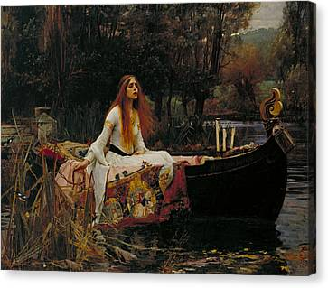 The Lady Of Shalott Canvas Print