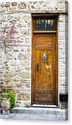 Wooden Door Canvas Print