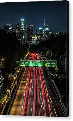 110 Freeway Canvas Print