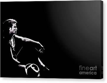 110. Just Leave Me Alone Canvas Print by Tam Hazlewood