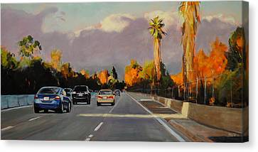 110 North Canvas Print