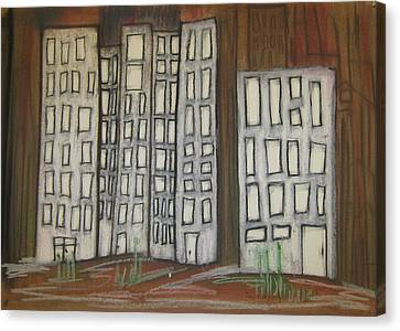110 Canvas Print by Stefan Hermannsson