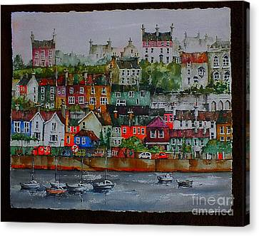 110 Windows On Kinsale Harbour Canvas Print