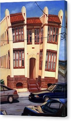 111 Oriental Avenue Canvas Print