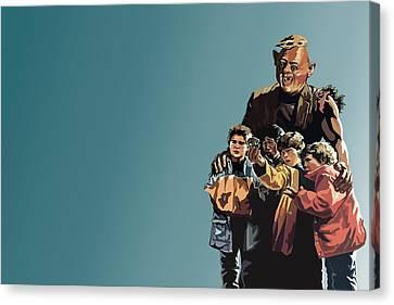 112. Never Say Die Canvas Print by Tam Hazlewood