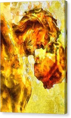 Jesus Christ - Religious Art Canvas Print