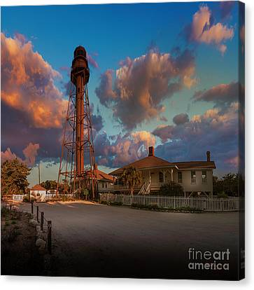 Guides Canvas Print - 114 Periwinkle Way by Marvin Spates