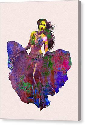 Tango Canvas Print - Dance by Elena Kosvincheva