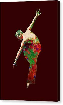 Dance Canvas Print - Dance by Elena Kosvincheva