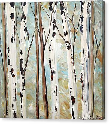 Abstract Landscape Canvas Print by Jolina Anthony