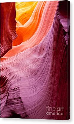 Antelope Canyon Canvas Print by Sabino Parente