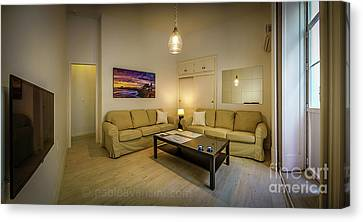 Canvas Print featuring the photograph Apartment In The Heart Of Cadiz by Pablo Avanzini