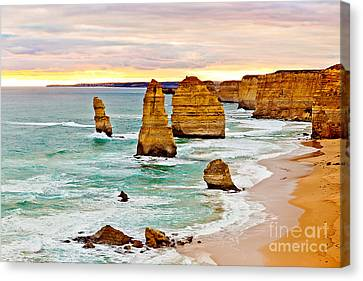 12 Apostles Canvas Print by Az Jackson