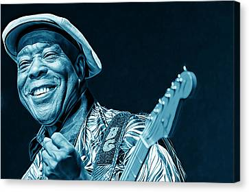 Buddy Guy Collection Canvas Print by Marvin Blaine