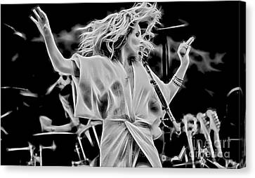 Grace Canvas Print - Grace Potter And The Nocturnals Collection by Marvin Blaine