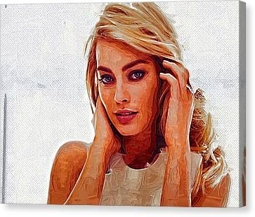 Margot Robbie Canvas Print by Best Actors