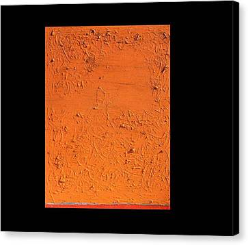 Orange No.11 16 X 20 2010 Canvas Print by Radoslaw Zipper