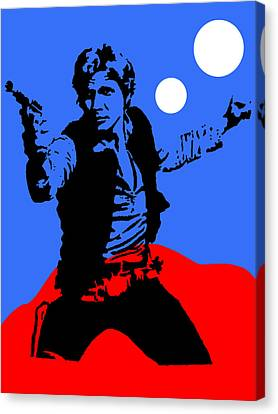 Star Wars Han Solo Collection Canvas Print