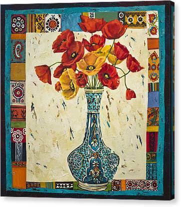Untitled Canvas Print by Mahtab Alizadeh
