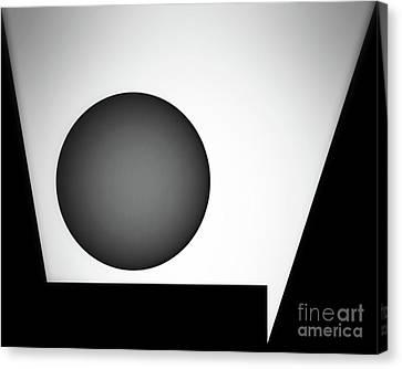 Canvas Print featuring the digital art 1207 2017 by John Krakora