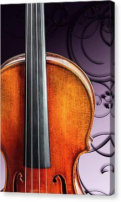 122 .1841 Violin By Jean Baptiste Vuillaume Canvas Print