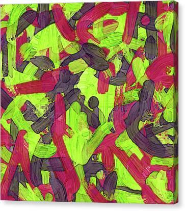 Untitled -a- Soup Canvas Print