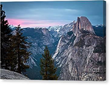 1231 Glacier Point Sunset Canvas Print by Steve Sturgill
