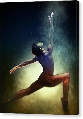 Ballet Canvas Print - Dance. by Elena Kosvincheva
