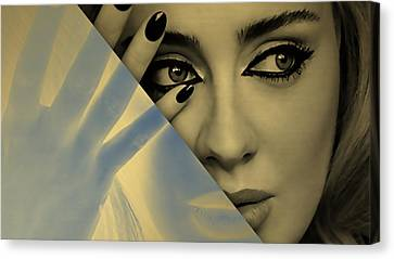 Adele Collection Canvas Print