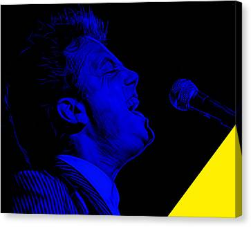 Piano Canvas Print - Billy Joel Collection by Marvin Blaine