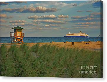 Canvas Print featuring the photograph 13- Cruising In Paradise by Joseph Keane