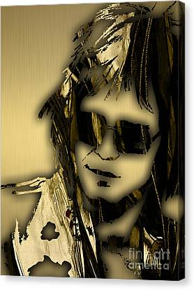 Elton John Canvas Print - Elton John Collection by Marvin Blaine