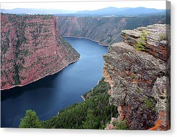 Flaming Gorge National Park Canvas Print