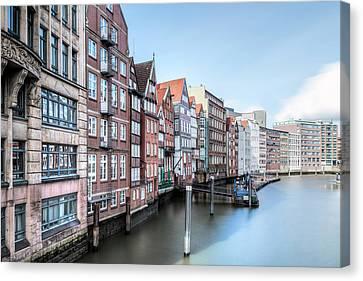 Deutschland Canvas Print - Hamburg - Germany by Joana Kruse