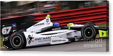 Pro Indycar Racing Canvas Print