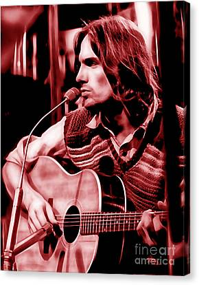 James Taylor Collection Canvas Print by Marvin Blaine