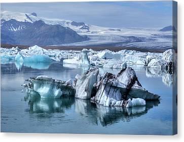 Europa Canvas Print - Jokulsarlon - Iceland by Joana Kruse