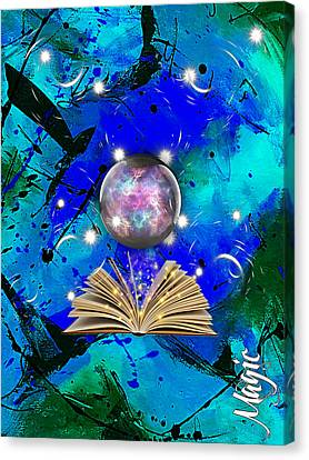 Magic Collection Canvas Print by Marvin Blaine