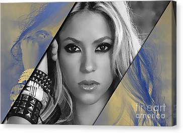 Shakira Collection Canvas Print
